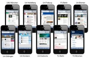 Mobile APPs von Hochschulen