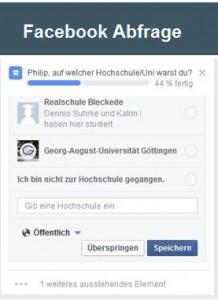 Social Recruiting Studentenauf Facebook